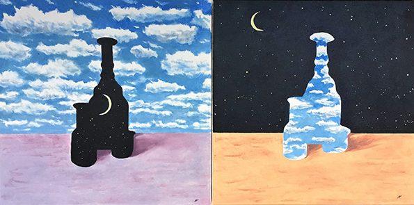 Morandi Meets Magritte - ©Patrick Faulkner